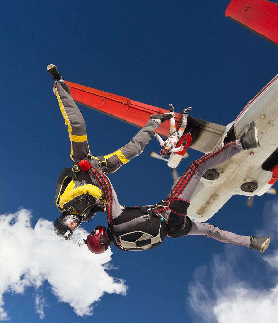 horarios academia de paracaidismo
