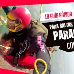 saltar en paracaídas Conoce cómo reservar, pagar llegar hasta el lugar de tu salto.