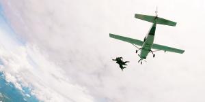 Paracaidismo en Tequesquitengo