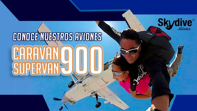 Conoce nuestros aviones Caravan Supervan 900